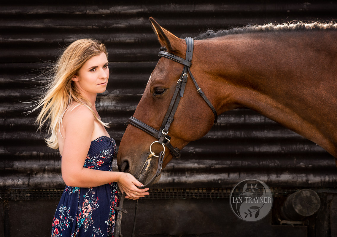 """Equine beauty"" photo shoot"