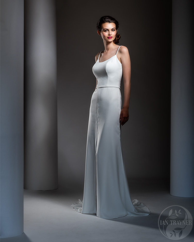 Commercial bridal gown photo shoot
