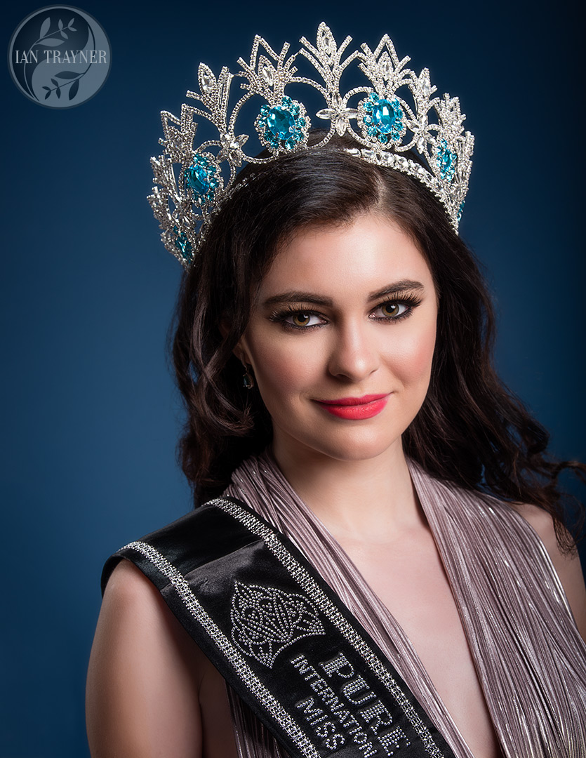 Photo shoot for Rosemary Lloyd, Miss Pure United Kingdom 2019