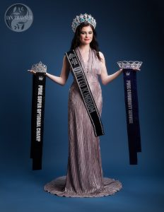 Photo shoot for Rosemary Lloyd, Miss Pure United Kingdom