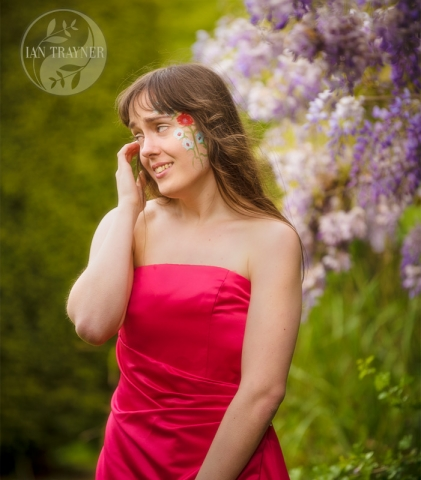 "Location fantasy photo shoot with PortraitX ""Secret Garden"". This is a beautiful garden."