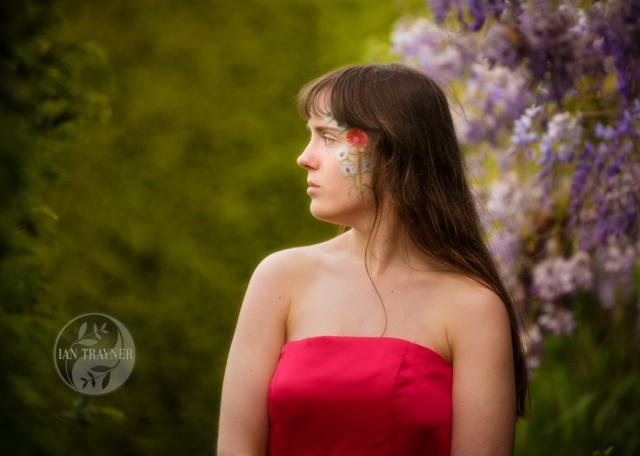 "Location fantasy photo shoot with PortraitX ""Secret Garden"". It is so quiet and peaceful."