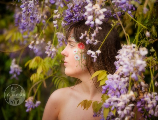 "Location fantasy photo shoot with PortraitX ""Secret Garden"". I feel that I belong here."
