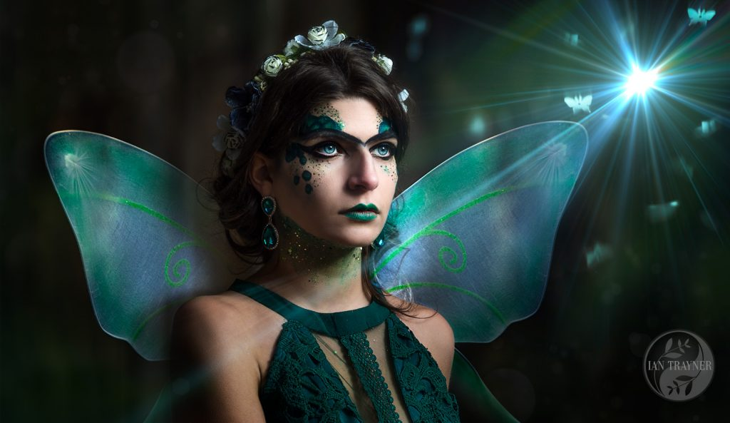 """Fairy Queen"", composite photographic art by Ian Trayner"
