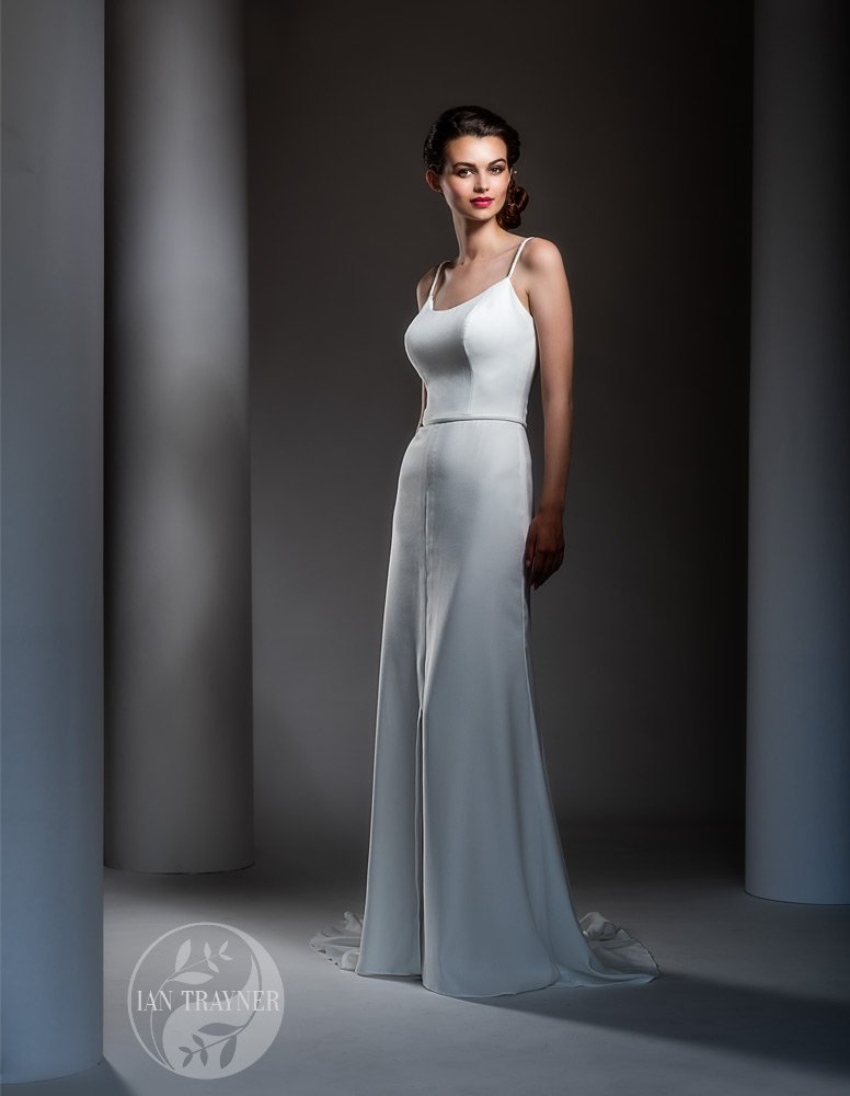 Bridal gown by Shamali. Photo taken by fashion photographer Ian Trayner.