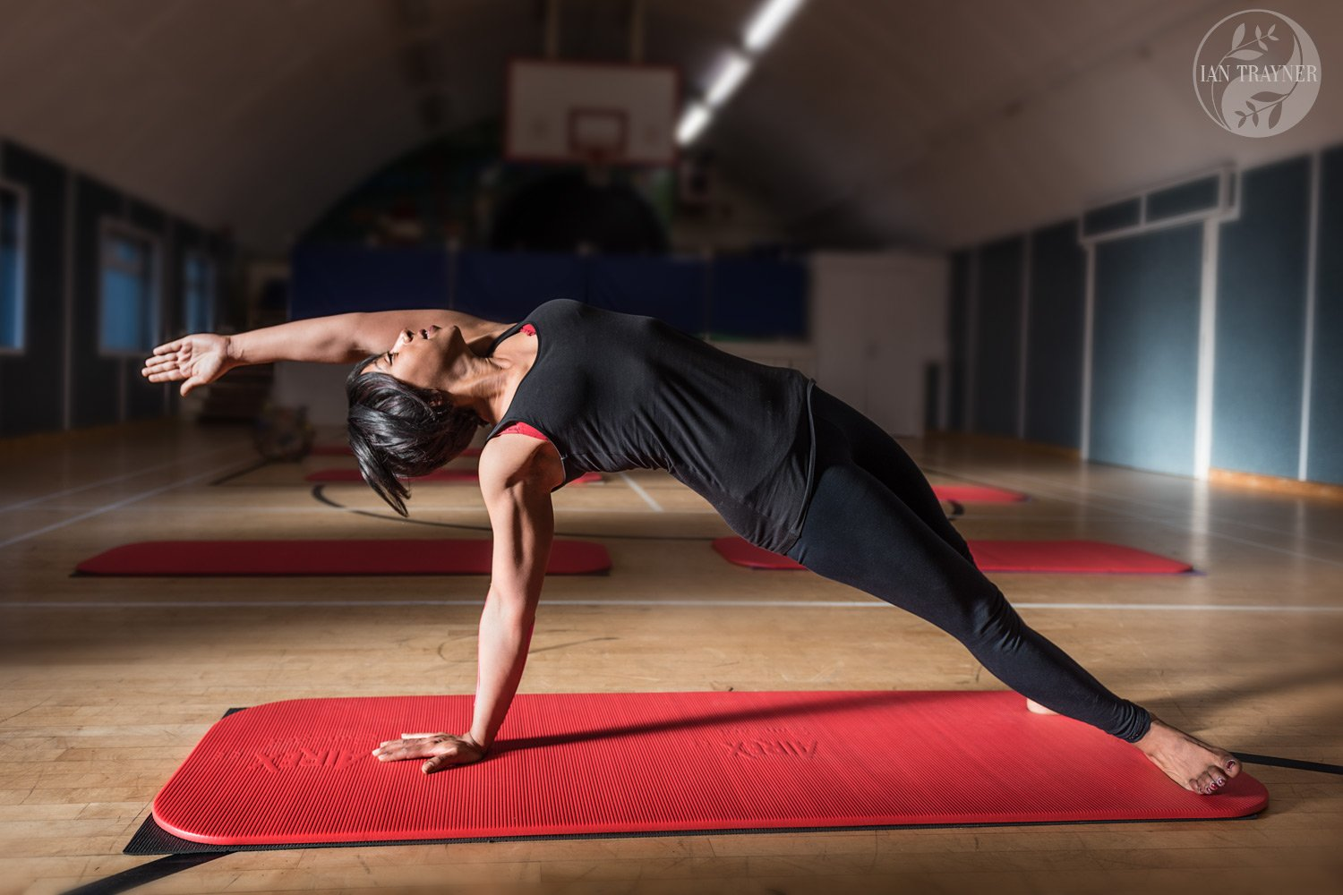 Professional business branding photography by Ian Trayner. Mehret Hope of Hope Pilates.