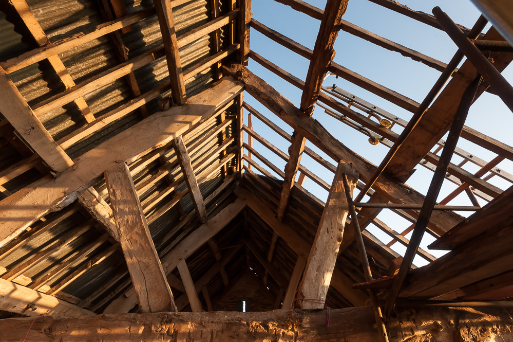 The old barn needs a new roof. Apart from anything else!